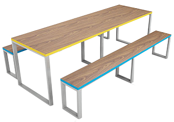 Hannah Lite Table and Bench Sets