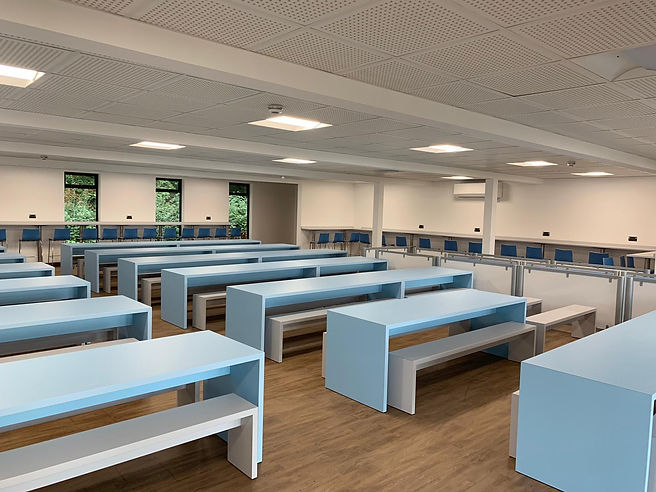 Blue School Dining Furniture