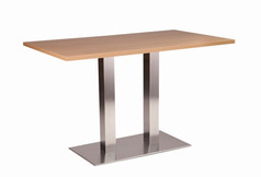 Danilo twin dining base with oak top