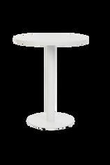 Forza Round White with white round top