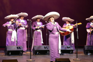 Mariachi Reyna de Los Angeles, the Grammy-nominated all-female Mariachi, featuring LAMusArt alumna Maira Solis, performed an array of electrifying and classic Mexican song numbers.