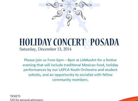 Holiday Concert & Posada