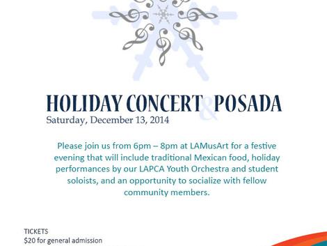 Holiday Concert & Posada