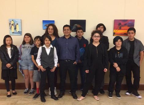 USC's Catholic Center Hosts LAMusArt Art Exhibit