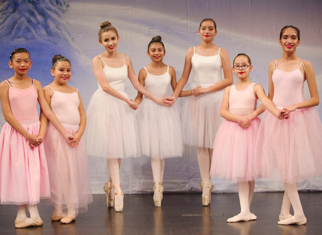 Dance Students Perform at LAMusArt Holiday Dance Show