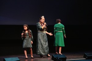 Azucena Ortega, Brianna Arias, and Adriana Ortega performed I Know It's Today from Shrek the Musical, which was our Camp MusArt production this past summer.