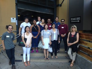 LA County Arts Commission Interns Embark on a Historic Downtown Tour