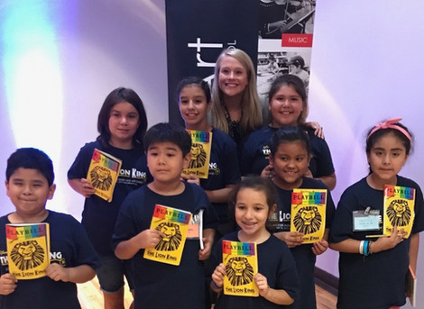Broadway's Carrie St. Louis Visits Camp MusArt