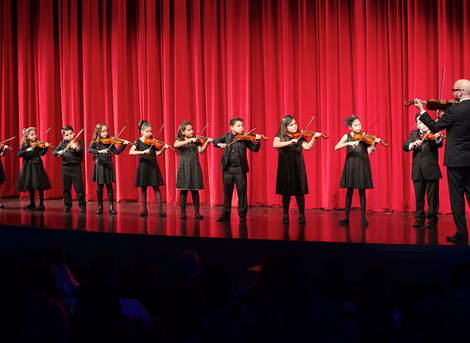 LAMusArt Music Ensembles Showcase Holiday Pieces at Winter Holiday Concert