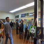 LAMusArt parents exploring students hard work and creativity