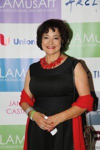 Award-winning journalist, author, producer, and CEO, Bel Hernandez Castillo was presented with the LAMusArt Creative Paths in Leadership Award.