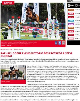 Article Victorio des Frotards