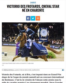 Charente Libre_2020-02-10_Victorio_des_F