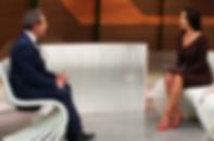 Dr. Alexander Nassif dando entrevista