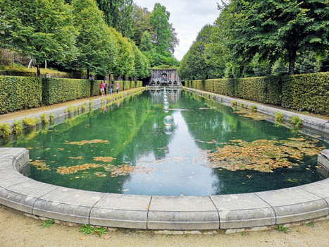 Formal gardens...