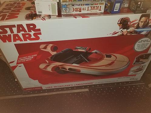 Luke Skywalker Landspeeder ride along.