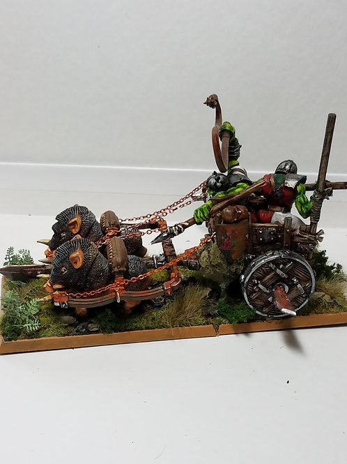 Warhammer Ork Chariot