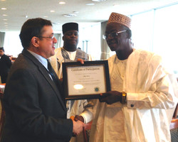 PS w Nigerian Speaker of the House
