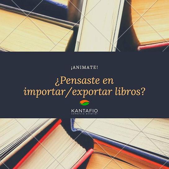Importar Exportar Libros Argentina Despachante de Aduana
