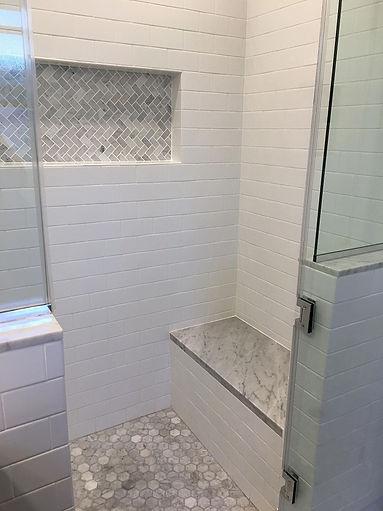 Package 3 - walk in shower - glass door,