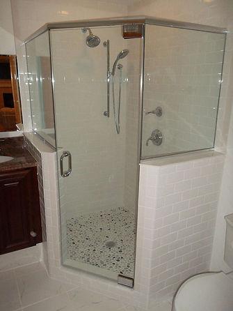 Package 2 - walk in shower - glass door,