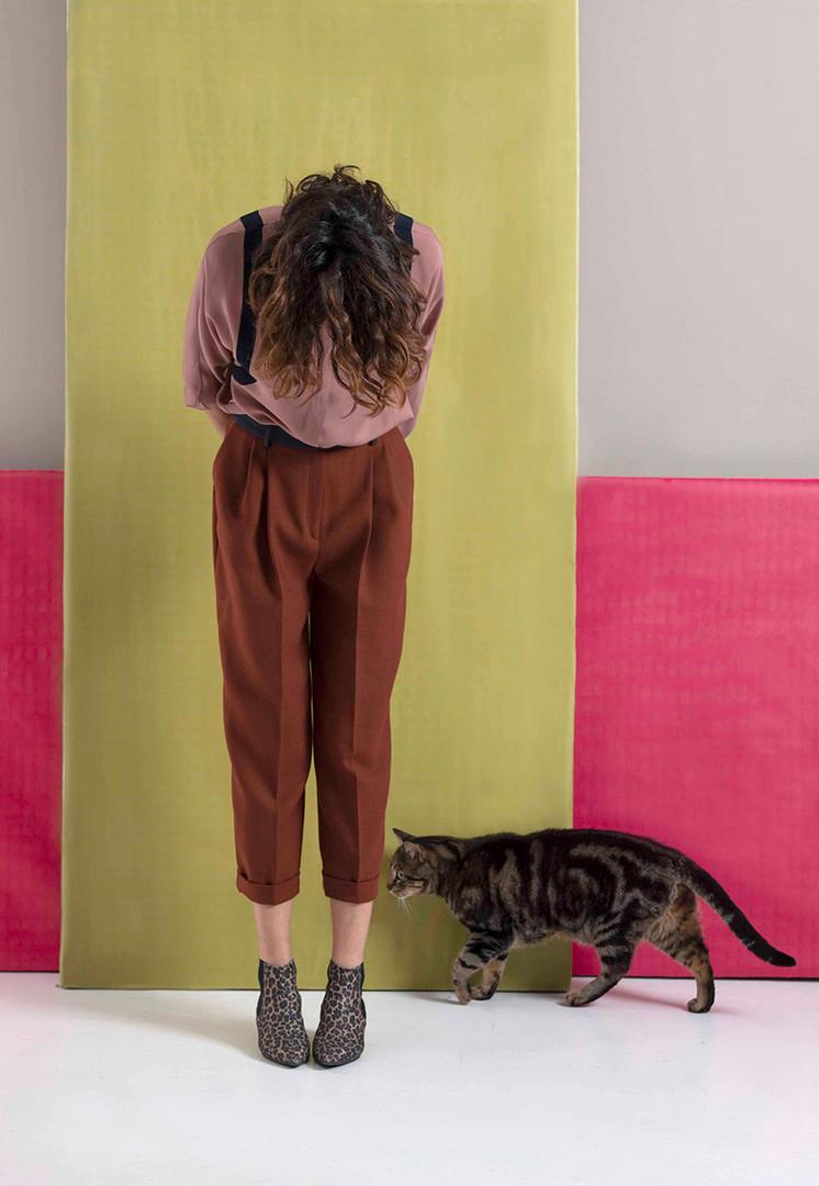 Camicia Cipria - Pantalone Gatsby 3 120.