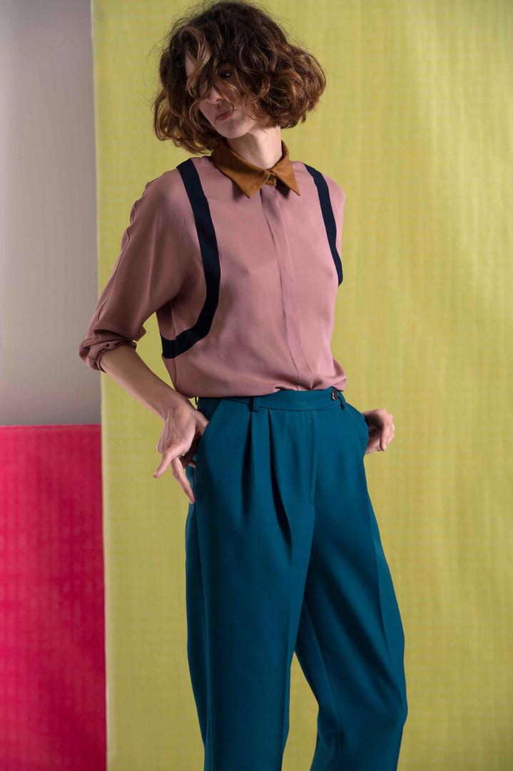 Camicia Cipria - Pantalone Gatsby 2 120.