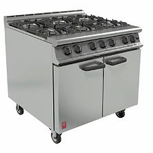 Falcon Dominator G3101 6 Burner Range Ph
