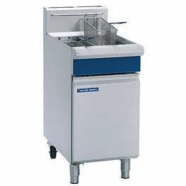 Blue Seal GT46 Gas Twin Tank Fryer Photo