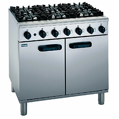 Lincat Silverlink 600 SLR9 Gas 6 Burner