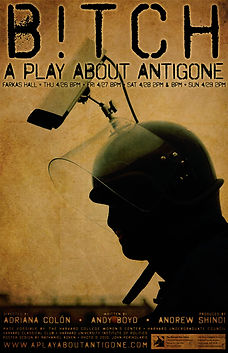 bitch a play about antigone andy boyd play playwright