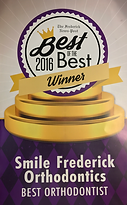 Best Orthodontist 2016 by Frederick News Post Readers