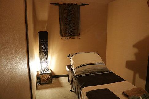 福岡市東区アジア癒し館の個室の写真