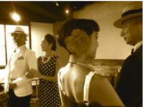 大名のダンススタジオでのエスコートウォーキングの画像です。