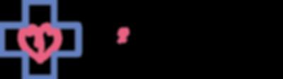 医療法人福岡桜十字花畑病院のロゴマーク