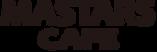 マスターズカフェ麦野店のロゴです。