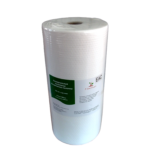 Полотенца безворсовые (375х500; 75г/кв.м), рулоне(120)