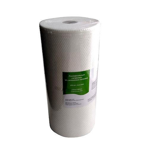 Салфетки безворсовые (375х400; 55г/кв.м) в рулоне(150)