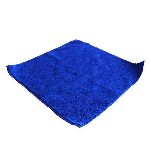 Cалфетка из микрофибры 40х40см.(синяя)