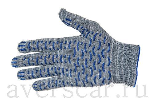 Перчатки рабочие ПВХ 10 класс 4 нити