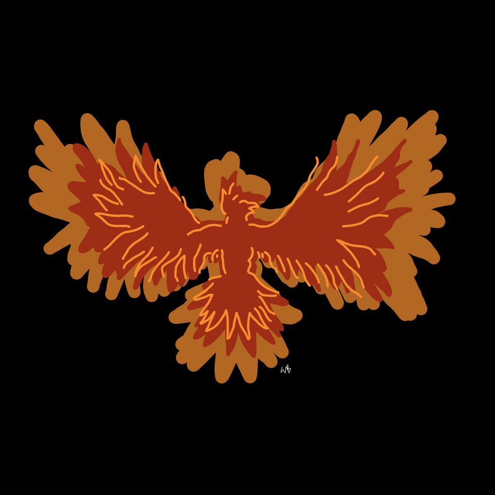 """Phoenix"" (A Tribute to Gabriela Mistral)"
