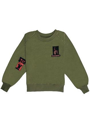Patch sweatshirt