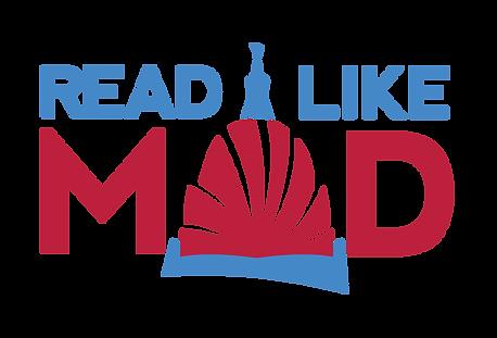 Read Like Mad - Color Logo - transparent