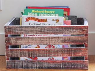 Help fill a home with books: We need wooden boxes!