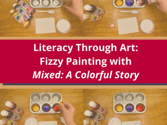 Fizzy Painting with Mixed: A Colorful Story