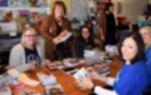 allstate volunteering at center 10.29.19