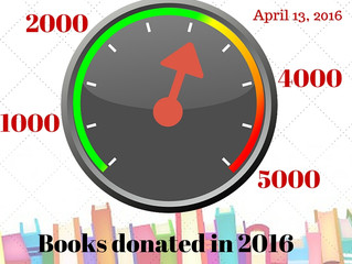 Closing in on our book goal