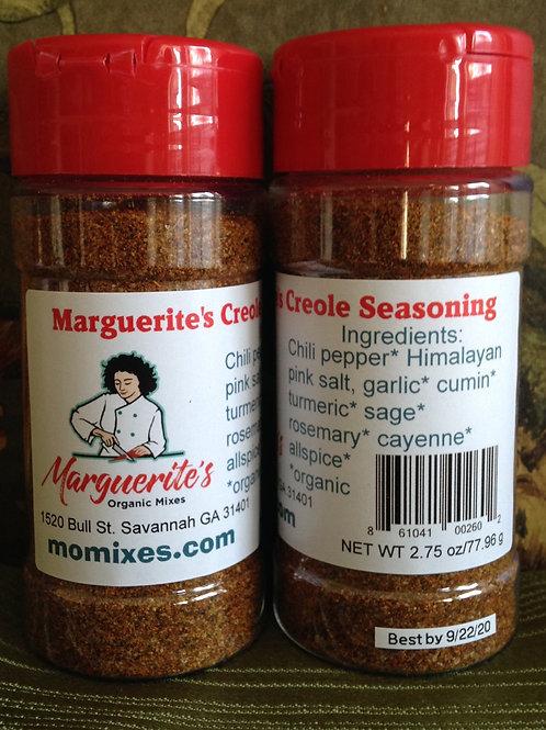 Marguerite's Creole Seasoning 2.75 oz. shaker