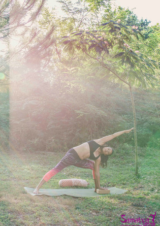 Morning Yoga Vieux Bocau 6