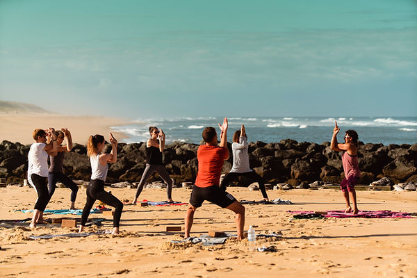 Feel Good Yoga Vieux Boucau plage 13